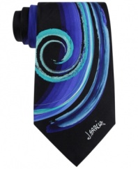 With an artistic pattern, this Jerry Garcia tie is everything you want it to be.