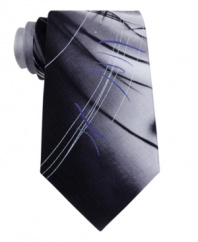 With a cool abstract design, this Jerry Garcia tie let you decide.