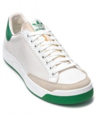 Rod Laver is the only player in history to win the tennis Grand Slam twice. Introduced in 1970, this is the first signature shoe of the man many consider the best tennis player ever. So it's easy to see why these men's sneakers are still so popular.